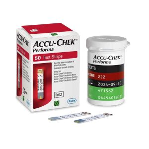סטיקים למד סוכר אקוצ'ק 50 יחידות בחבילה Accu-Check