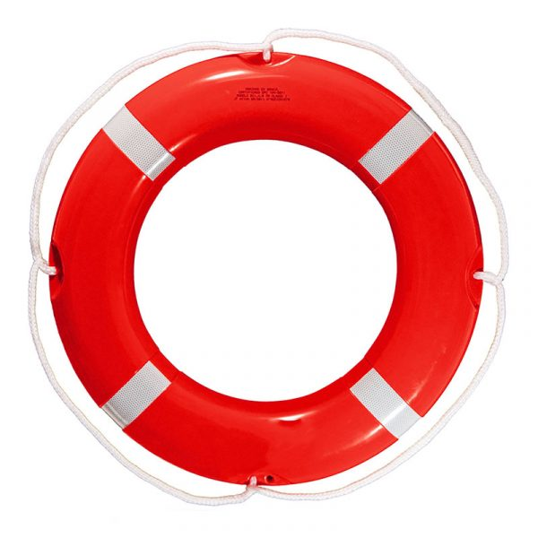 גלגל הצלה קלקר אדום / לבן