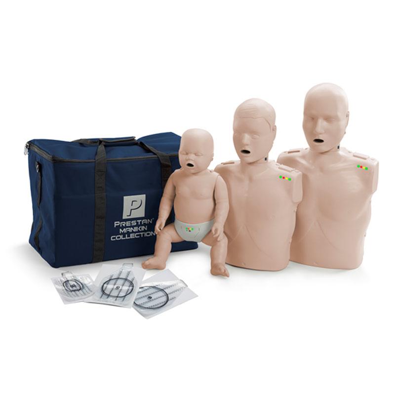 בובות החייאה Prestan CPR מבוגר / ילד / תינוק