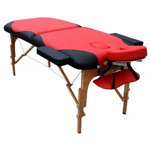 מיטת טיפולים מקצועית מתקפלת מעץ