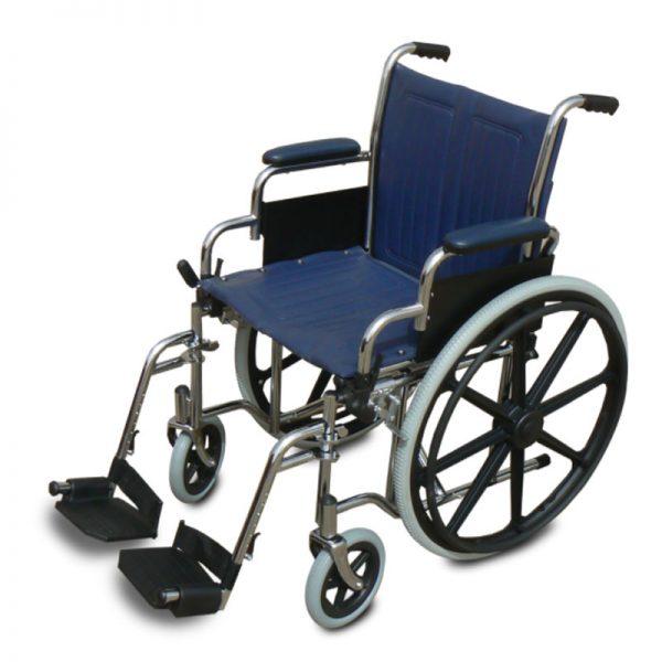 כסא גלגלים מוסדי עם ידית קצרה דגם Modern MS007
