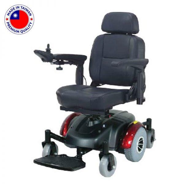כסא גלגלים ממונע מתקפל טילט דגם MAMBO 367