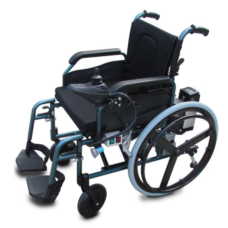 כסא גלגלים ממונע חשמלי דגם דלוקס 9603 / 9606D
