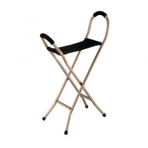 מקל כסא בד מתקפל 4 רגליים דגם 9111L