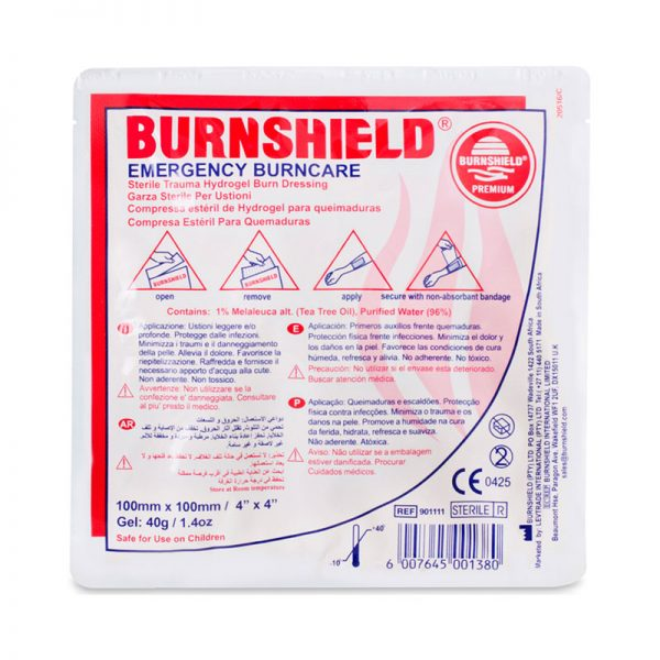 פד ברנשילד לחבישת כוויות Burnshield גודל 10x10