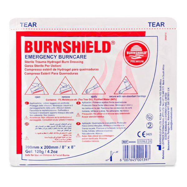פד ברנשילד לחבישת כוויות Burnshield גודל 20x20