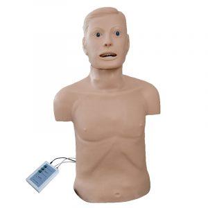 בובת תרגול החייאה ואינטובציה J158 CPR and Intubation Training Manikin