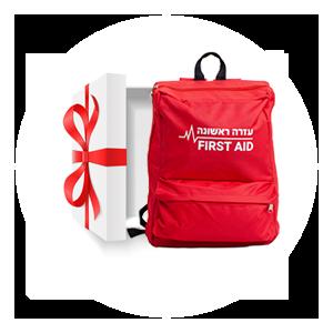 """מתנות למגישי עזרה ראשונה (מע""""ר)"""