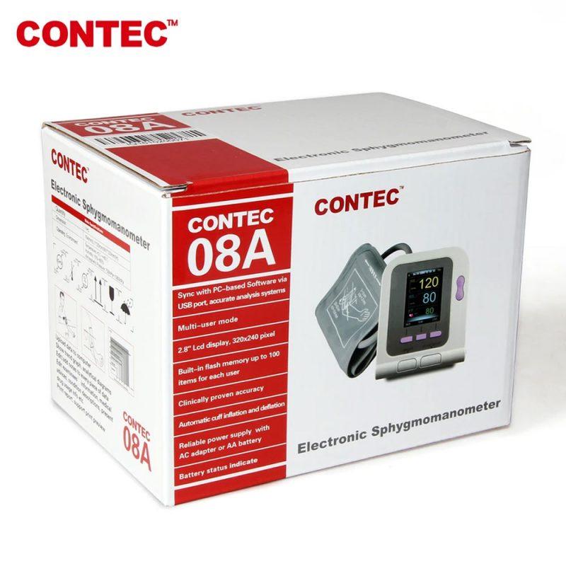מד לחץ דם וסטורציה שולחני אוטומטי Contec 08A